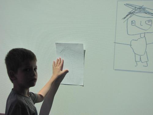 Zajęcia graficzne zwykorzystaniem projektora multimedialnego