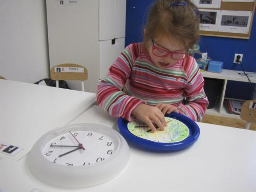 Tworzenie tablicy zegara iskładania zegara ściennego