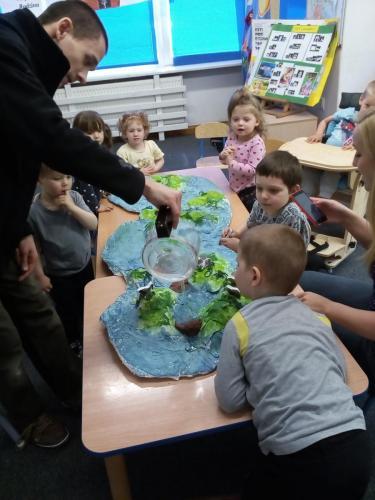 Tworzenie makiety wyspy zgipsu ifarb