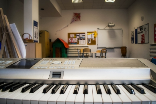 Instrumenty w sali grupy cytrynowej