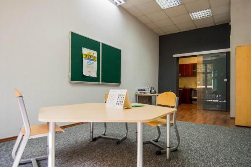 Sala grupy A- przestrzeń edukacyjna