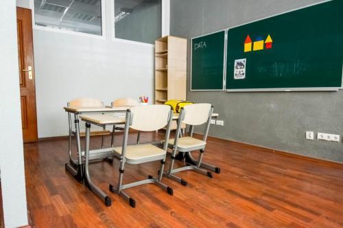 Sala grupy C- przestrzeń dopracy edukacyjnej