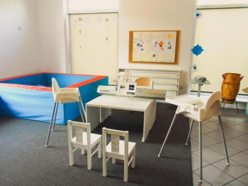 Sala grupy żółtej-przestrzeń domuzykoterapii