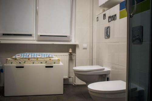 toaleta dla dzieci i gości-piętro