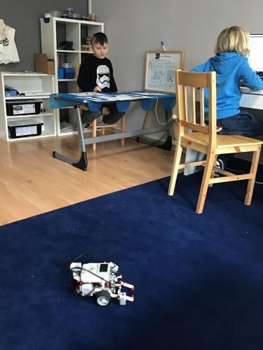 Nauka programowania robota Lego Mindstorms