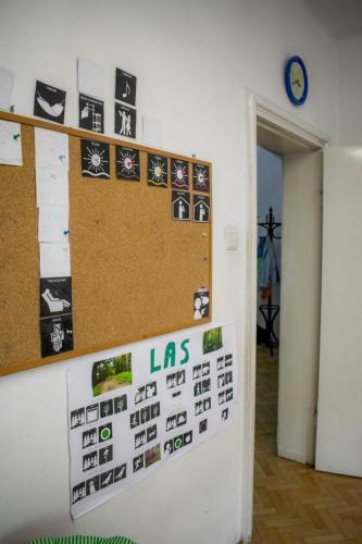Sala grupy białej- graficzne plany dnia