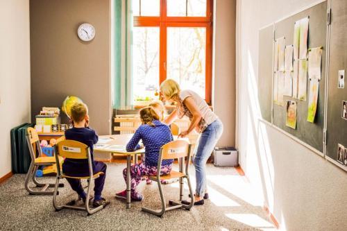 Zajęcia edukacyjne grupy A- nauka czytania