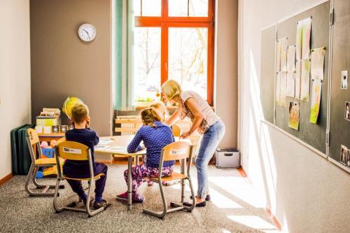zajęcia edukacyjne grupy A-nauka czytania